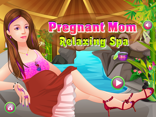 Pregnant Mom Spa Games