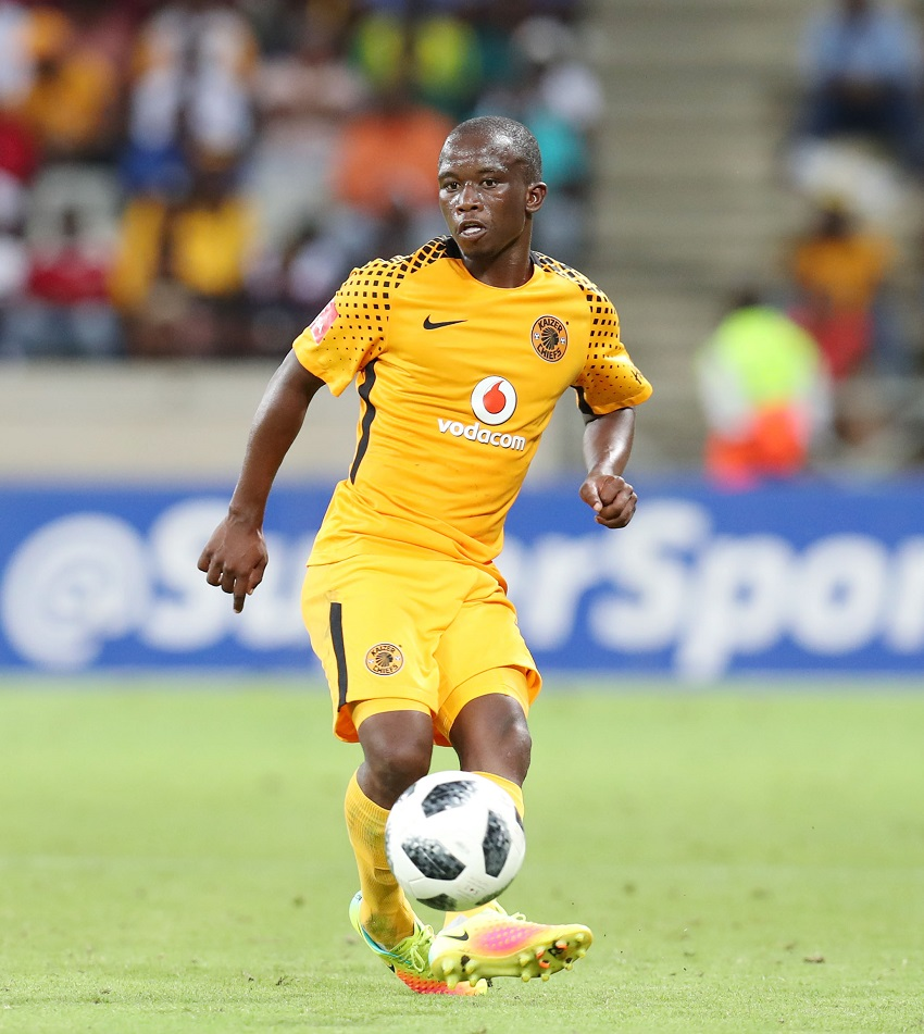 Siphosakhe Ntiya Ntiya of Kaizer Chiefs during the Absa Premiership 2017/18 match between Supersport United and Kaizer Chiefs at Mbombela Stadium, Mpumalanga South Africa on 06 January 2018.
