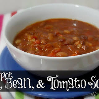 Ham, Bean, and Tomato Soup.