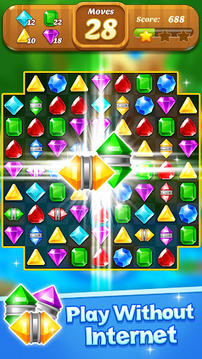 Jewel & Gems Mania 2020 - Match In Temple & Jungle apktram screenshots 3