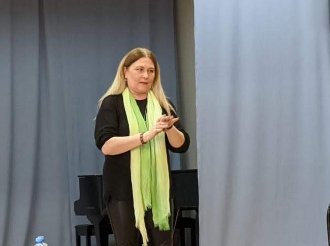 Режиссер театра «Содружество актеров Таганки» дала мастер-класс во ВГИИКе