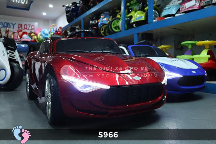 Xe ô tô điện cảnh sát XYS-966 2