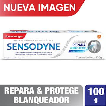 Sensodyne Repara &   Protege Blanqueador -Sensibilidad, 100 g
