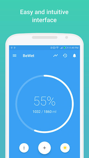 BeWet - Drink Water Reminder, Tracker and Alarm 1.13.7 screenshots 1