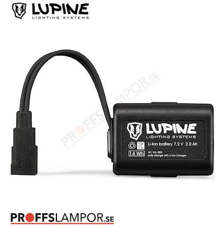 Tillbehör Batteri Lupine HardCase 2.0 Ah Fast-Click-System
