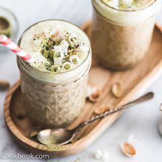 Espresso Matcha Ice Cream Float.