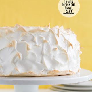 Lemon Meringue Angel Cake.