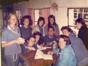 Photo: 1987 - Bariloche, Campamento anual Postas
