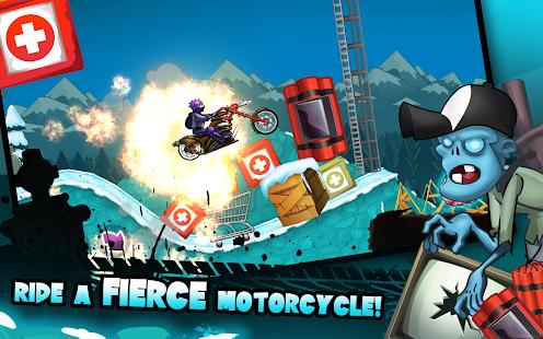 Zombie Shooter Motorcycle Race- screenshot thumbnail