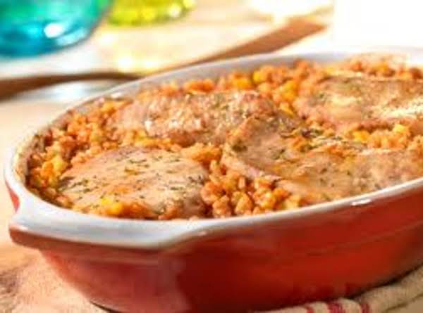 Spanish Rice And Pork Chops