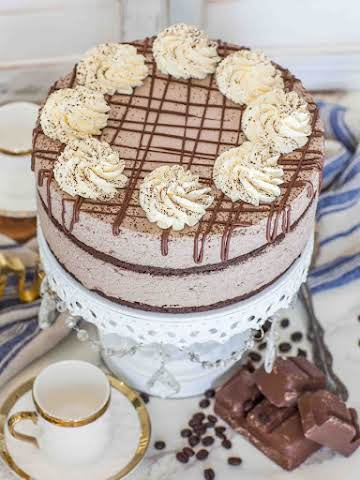 Keto Chocolate Mousse Cake