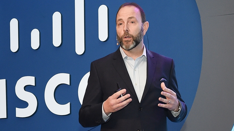 David Meads, Cisco VP for the Middle East and Africa.