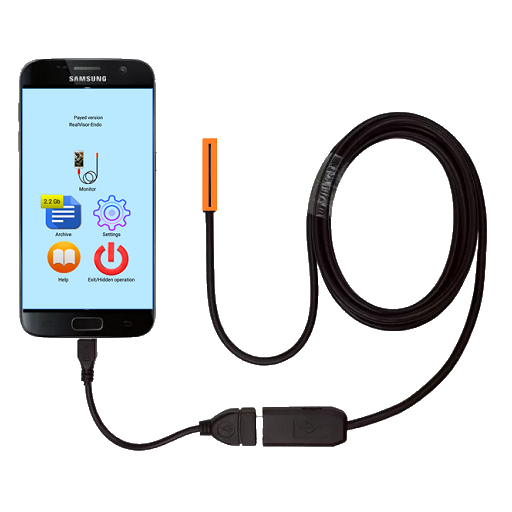 USB camera and Endoscope Professional for Samsung