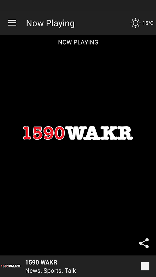 1590 WAKR News.Talk. Sports.- screenshot