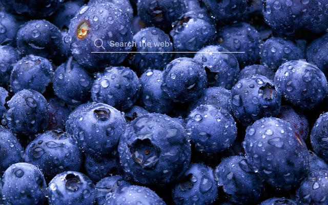 Blueberries HD Wallpapers New Tab Theme