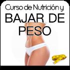 Curso de Nutrición y Bajar de Peso icon