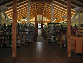 Photo: The library