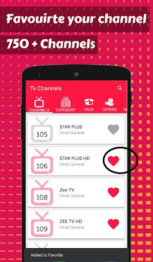 Foto do App for Digital TV Channels & Digital DTH TV Guide