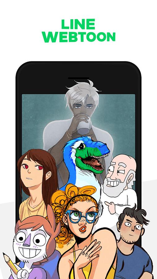 LINIE WEBTOON - Kostenlose Comics android apps download