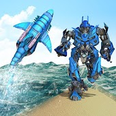 Warrior Robot Shark Game -Transforming Shark Robot