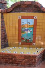 Photo: Malibu Tile Works - Outdoor Shower - Dove Nest Ranch - Fairfield, CA