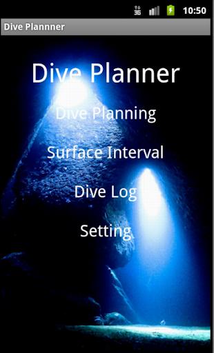 scuba diving Dive Planner lite 1.7 Windows u7528 5