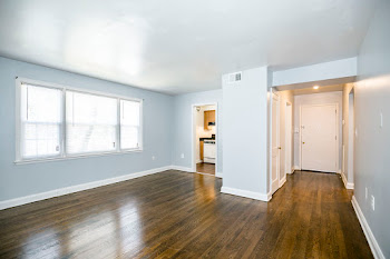 Go to One Bedroom Renovated Floorplan page.