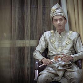 Traditional Malay Wedding by Mohammad Zaid Bin Johari - Wedding Groom