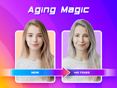Aging Face – Face Predict & Cartoon Effect 1