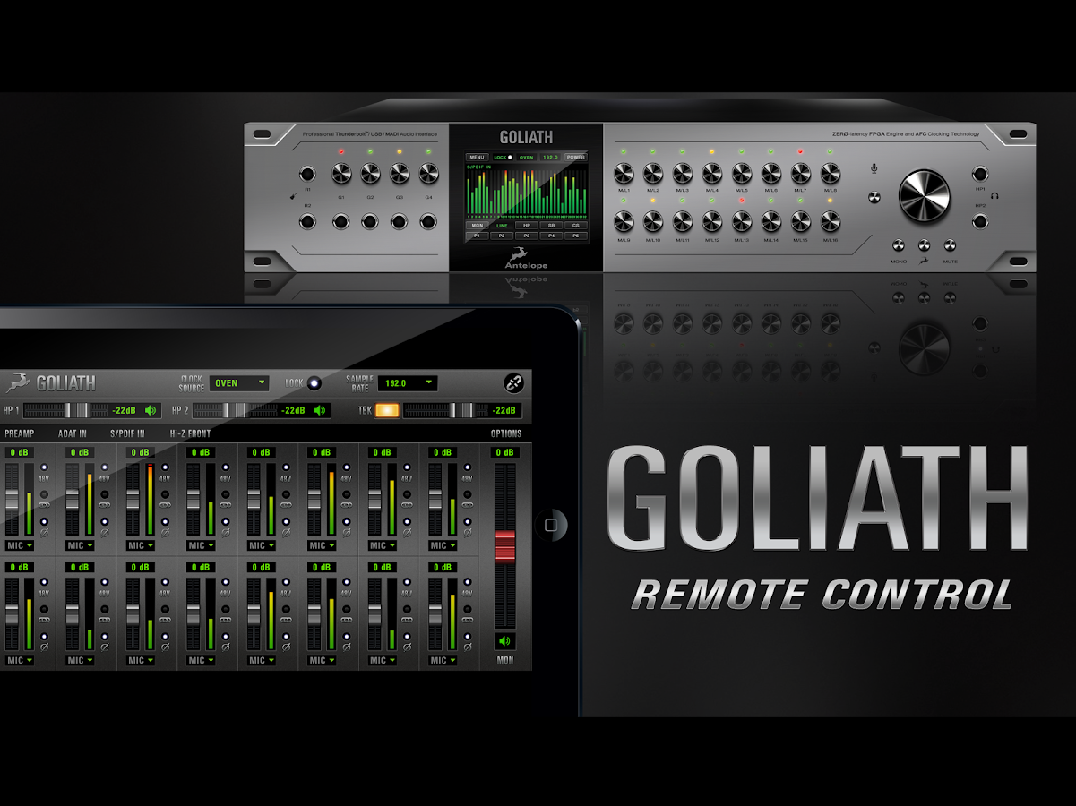 Goliath Remote- screenshot
