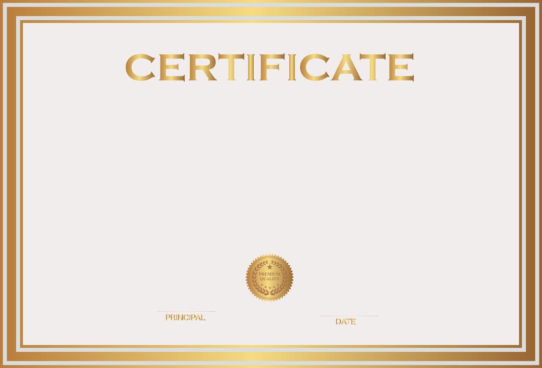 White Gold Certificate Template m4d1uNKCYyJ-B-THLqTd