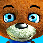 Talking Teddy Bear – Games for Kids & Family Free icon
