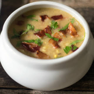 Dairy-Free Corn Potato Chowder.