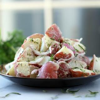 Mixed Herb Potato Salad