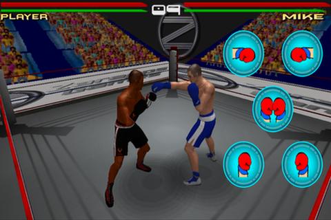 仮想ボクシング3Dゲーム