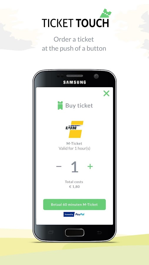 TicketTouch- screenshot