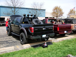 Roll bar with integrated stacks on raptor page 2 ford truck my lights tire but also is tied into the frame with brackets and strengthened the rear frame and also i think it would help in a roll over if needed aloadofball Choice Image