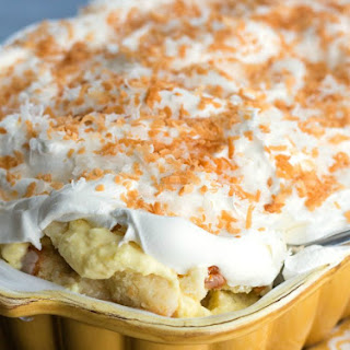 Coconut Cream Cake Pan Trifle.