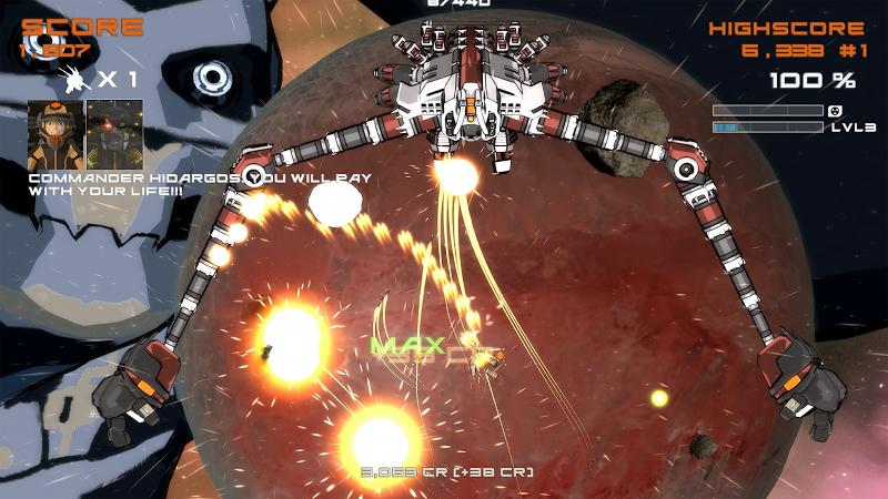 Quantum Revenge - Mecha Robot Space Shooter Screenshot 3