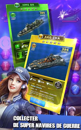 Code Triche Battleship & Puzzles: Warship Empire APK MOD (Astuce) screenshots 3