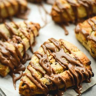 Chocolate Hazelnut Ricotta Scones with Nutella Glaze Recipe