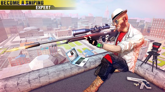 New Sniper Shooter: Free offline 3D shooting games 9