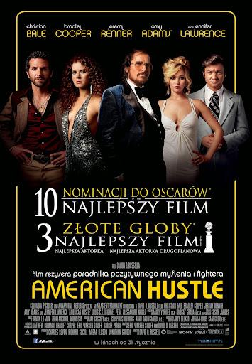 Polski plakat filmu 'American Hustle'