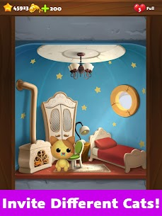 Cat Home Design MOD (Unlimited Money/Stars/Lives) 5