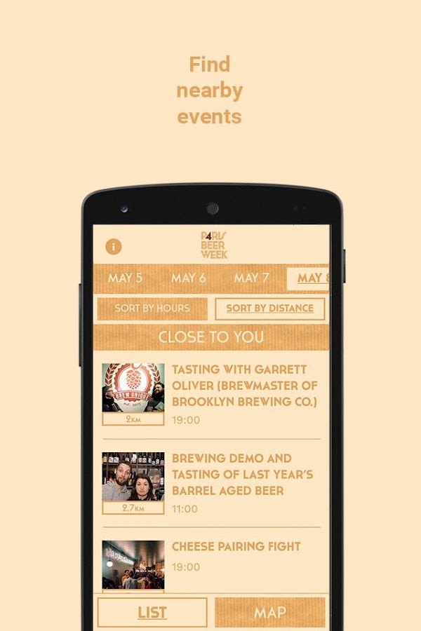 Paris Beer Week- screenshot