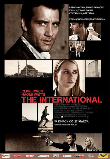 Polski plakat filmu 'The International'