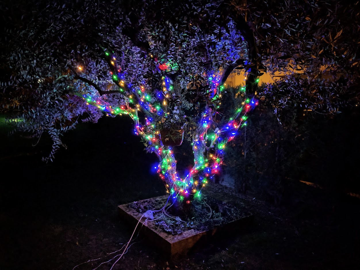 luci di natale led colorati