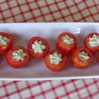 Avocado-Stuffed Tomatoes.