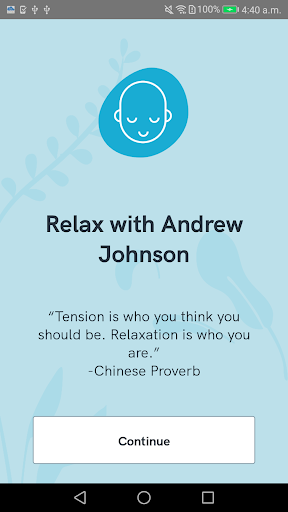 Relax with Andrew Johnson screenshot 1