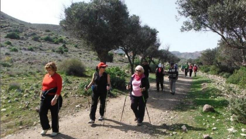 El mejor senderismo en Almería.